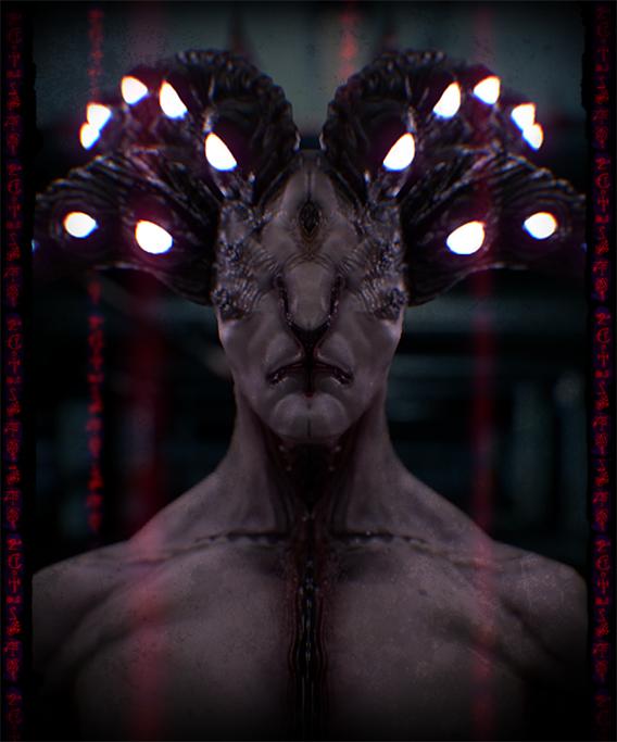 Hypnotic Horned Demon