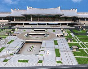 XiaMen railway Station 3D model