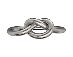 Jewelry Ring Fine Jewelry Wire Style -CC47 3D print model