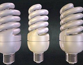 3D model Energy saving lamp 1