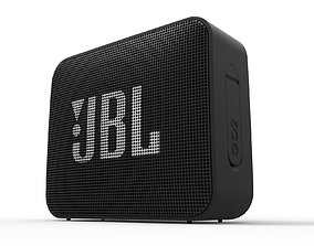 JBL GO2 Waterproof speaker 3D model
