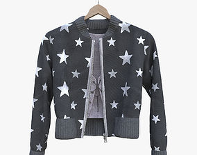 3D garment Jacket and blouse