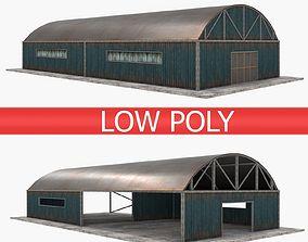 Warehouse pack - Blue 3D model