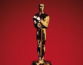 3D print model statuette Oscar