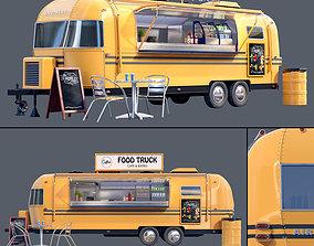 Food Truck Airstream 3D