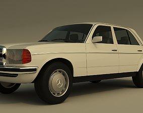Mercedes Benz W123 1975 3D model