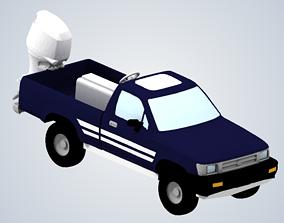 Jeremy Clarksons amphibious truck Top 3D printable model