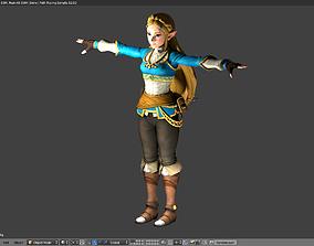 Zelda - Breath of the Wild - Rigged - 3D model