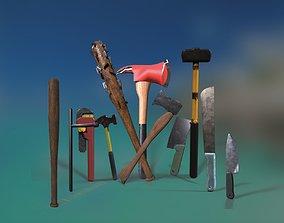 3D Survival Melee Weapons Vol 1