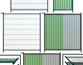 industrial 3D Metal Wicket fence