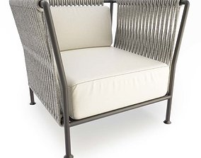 3D model Treble Braided Armchair