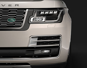 3D Range Rover SVAutobiography LWB L405 2018