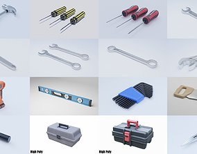 Tools and Workbench Collection 3D model