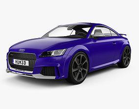 Audi TT RS coupe 2016 3D