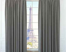 3D model Modern curtain