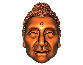 3D printable model Nuclear carving Tathagata
