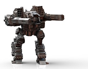 3D print model EMP-3030 Empress Mech Robot