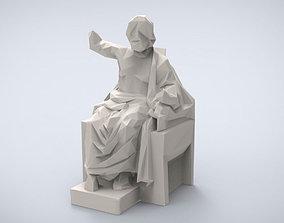 Printable Classical Zeus sculpture
