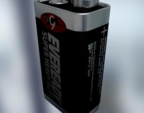 Battery size-9V 3D model