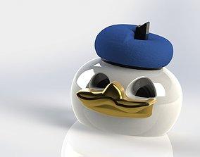 3D printable model duck mem