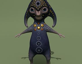 3D model Mystical Monster A