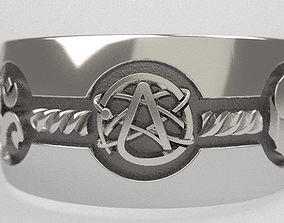 3D printable model Atheism ring - and other religions -