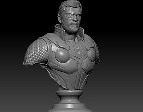 Thor Ragnarok Bust 3D printable model