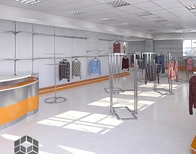 3D model Clothing Store