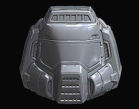 3D print model replicas Doom Guy Classic Helmet