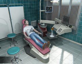 3D model Dental Room
