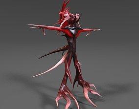 3D asset Spore Warrior Alien Character