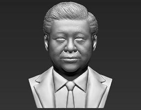 Xi Jinping bust 3D printing ready stl obj formats