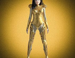 Wonder Woman 84 Rigged 3D asset