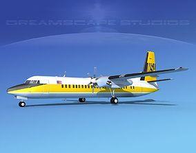 3D Fokker F-60 MSA