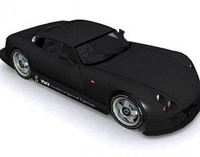 3D asset TVR Cerbera Speed 12