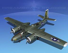 Douglas A-26B Invader V03 3D model