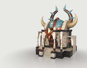 Odin Temple 3D model