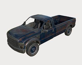 3D Abandoned Truck 02