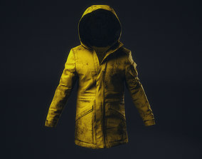 3D asset Dark Yellow Jacket PBR
