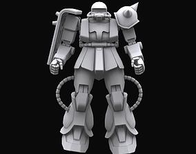 3D Gundam mobile suit MS06J model