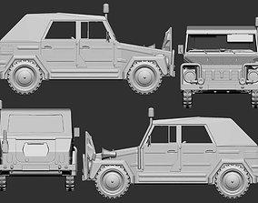 3D print model 1 to 56 VW 181 Bundeswehr Jeep second 3