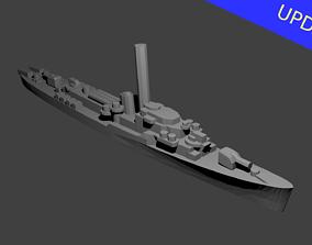 US John C Butler Class Destroyer 3D printable model