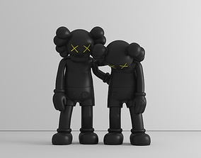 3D print model Along the way - by Kaws - figure - preset -