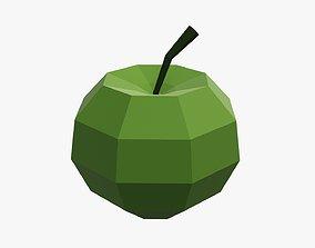 3D Paper apple fruit origami
