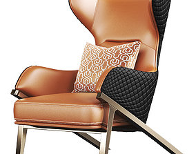 Luxury latest modern Armchair 3D