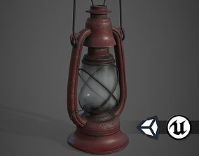 Old Lamp - PBR and Game Ready 3D asset