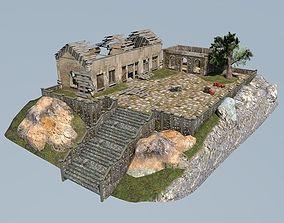Ruin scene 3D