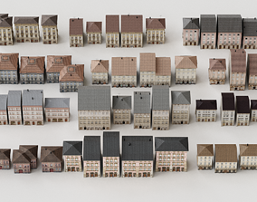 The buildings collection 3d models realtime