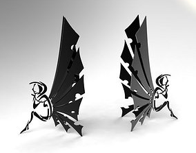 Book holder Fairy 3D print model