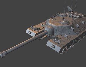 T95 tanks 105 mm Gun motor carriage 3D printable model